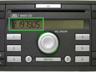 Ford коды для магнитол онлайн
