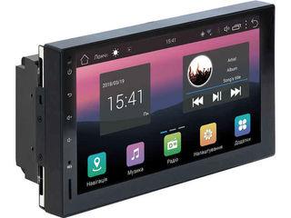 Акция! 2 DIN Андроид 8.1 c Wifi,3G,USB,GPS ! Гарантия,Камера в подарок!