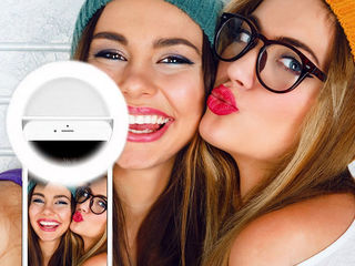 Селфи-кольцо Selfie Ring Light /  selfi lampa  inel LED