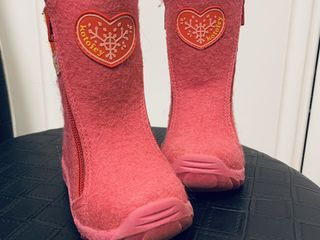 Зимний сапожки для девочек, размер 23