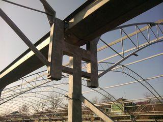 Sera solar sere teplite din metal zincat Italia Тeплицы