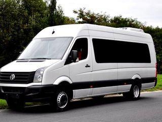 Transport Romania-autobus -18 locuri, microbus -8 locuri, autoturism -4-6 locuri