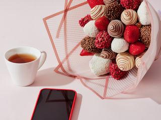 Căpșune în ciocolată  клубника в шоколаде