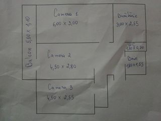 Apartament 3 odai + garaj in 3 nivele