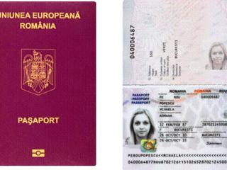 Cetățenie română: depunere dosar, jurământ, certificat de naștere/căsătorie/deces/divorț, pașaport.