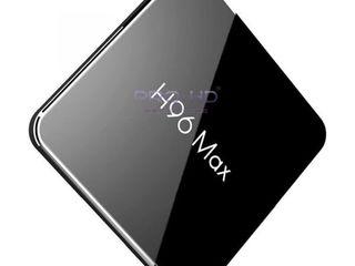 H96 Max X2 4Gb/64Gb процессор Amlogic S905X2 2 ГГц. Установка DVB-T2