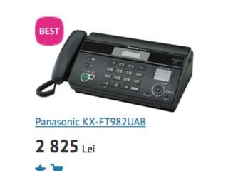 Faxuri Panasonic. Livram.