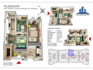 Art urban grup ,Preț de la constructor ,Bloc clasa premium ,De la 696 euro/m2, Valea Trandafirilor !