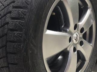 Диски с шиной на Audi, WV, Porsche 5 130R18 255/55R18