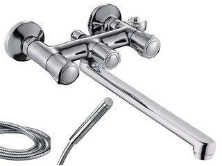 Смеситель с длинным гусаком (кран, baterie, robinet) для ванны (cada) - 964 лей