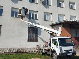Автовышка в аренду для монтажа систем вентиляции