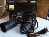 Nikon D5000+18-55vr+55-200vr+35mm 1,8f
