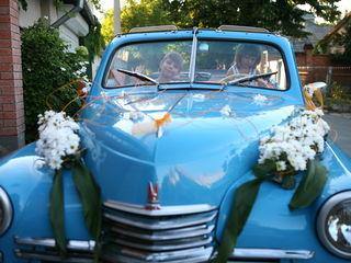 Свадебный ретро кабриолет - обслуживание торжеств