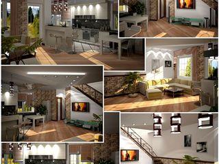 Дизайн интерьера, фасадов,проектирование домов,концернов,от фундамента до комнат,ландшафтный дизайн