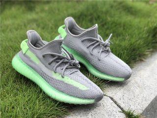 Adidas Yeezy Boost 350 V2 Grey/ Volt Unisex