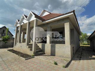 Casă în Cojușna, 100 mp, teren 8 ari, cu reparație și mobilată 70000 €