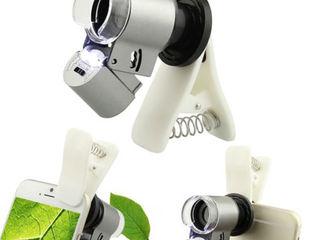 Камера с лупой для мобильных телефонов! Увеличивает в 60 раз!