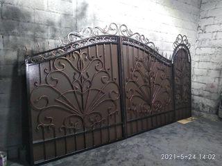 Ворота, калитки, заборы, двери, навесы, козырьки, решетки, балконы, лестницы