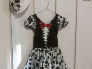карнавальный костюм далматинца для девочки 5 лет