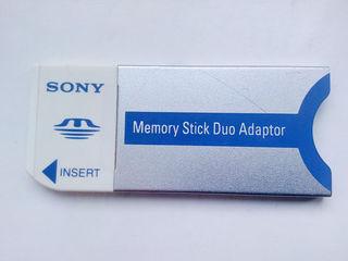 Адаптер из memory stick Pro Duo в memory stick Duo