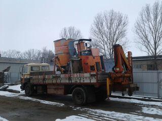Транспортные услуги с краном. Servicii de transport cu macara manipulator kran (манипулятор)