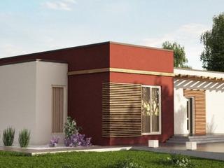 Строительство СИП домов в Молдове.  Дом с четырьмя спальнями для большой семьи