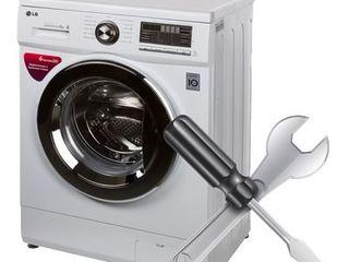 Reparaţia maşinilor de spălat lg domiciliu