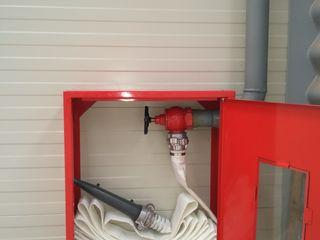 Hidranti interiori și exteriori de combaterea incendiilor(protecție contra incendiu)пожарная система