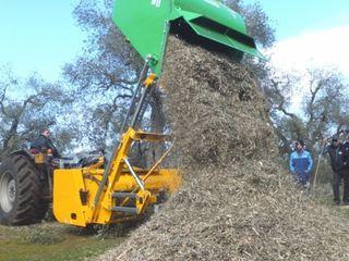 Tocător de biomasă cobra collina