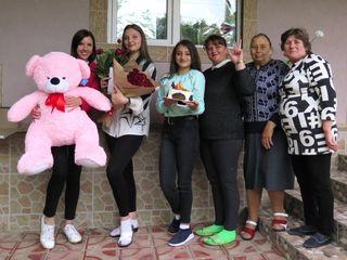 Surprize la domiciliu! Livrăm în toată Moldova 24/7. Facem video+foto la livrare.