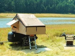 Палатка на крыше с мягкой оболочкой