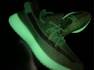 Adidas Yeezy Boost 350 V2 Glow Dark Green Unisex