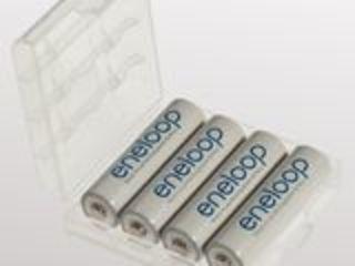 Acumulatoare originale:AA Panasonic Eneloop BK-3MCCE 1900 mAh, 2100 cicluri 4 buc. in cutie-270 lei.