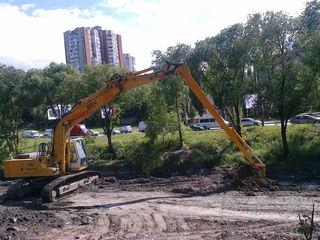 Excavatoare pentru demolari