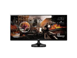 """LG 25UM58-P, Monitor LED IPS, 25"""", UltraWide Full HD, 60Hz, Preț nou: 2999 lei, hamster."""