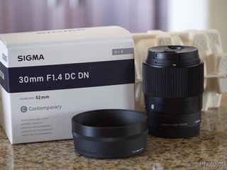 Sigma 30mm f/1.4  Micro 4/3