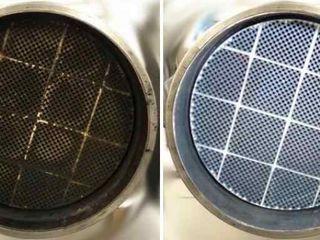 Curățare profesională și regenerare a filtrului de particule (DPF, сажевый фильтр).