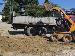Transport. Evacuarea gunoiului. Camaz 14 tone Камаз