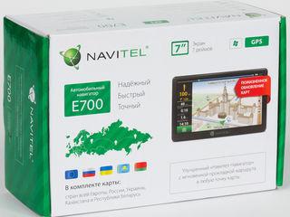 NaviTel GPS E700 с большим дисплеем и пожизненным обновлением карт