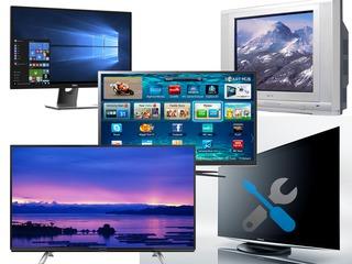 Ремонт телевизоров и мониторов(Буюканы) / Reparații TV СRT, LCD, LED, Smart, Plasma, Monitoare