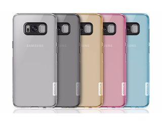 Husa Samsung Galaxy S8 Gri transparenta din silicon. Livrarea gratuita