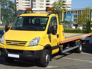 Evacuator; ajutor tehnic; tractari auto; tehnica specializata; automobile avariate;