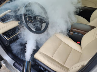 Eliminam orice miros neplacut in salon auto Chisinau. Удаление неприятных запахов в салоне авто