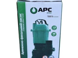 Дренажно-фекальный насос APC WQD 1.5 кВт/Pompă de drenaj-fecal/Garantie/Livrare Gratuita/2295 lei