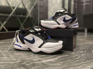 Nike Air Monarch White Blue Black Unisex