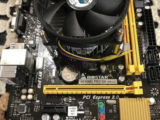 Biostar H110MD Pro D4+ Pentium G4400 3.3Ghz