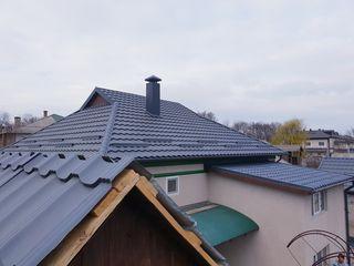 Montare acoperisuri de calitate! Diferite tipuri,materiale.Instalarea sistemei de scurgere