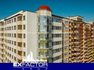 Exfactor Grup - Buiucani, 1 camera 43 m2 et. 3 de la 570 € m2, pretul 24.500 € cu prima rata 7.350 €