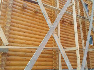 Шлифовка деревяных домов