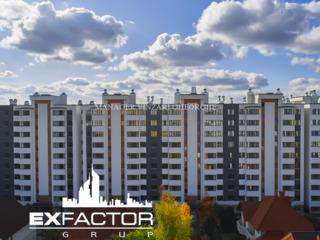 Exfactor Grup - Buiucani 3 camere 95 m2, et. 3 la cel mai bun preț, direct de la dezvoltator!